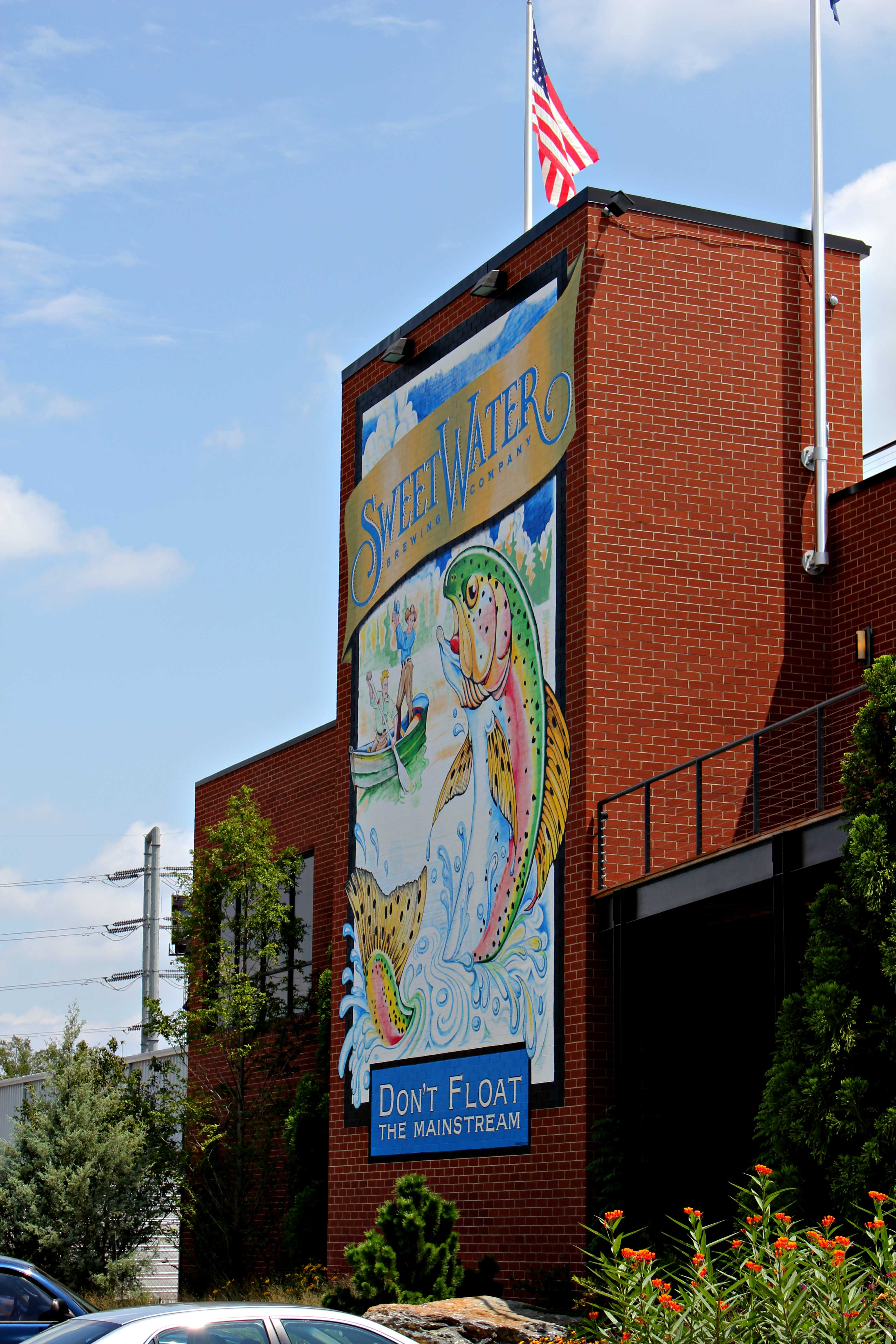SweetWater Brewery a fun and interesting way to spend a ...