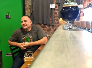 Big Alice head brewer and co-owner Kyle Hurst talks about his brews.