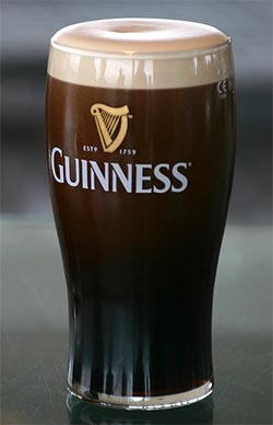 St patrick s day tradition how to pour a perfect guinness the jax beer guy - Guinness beer images ...